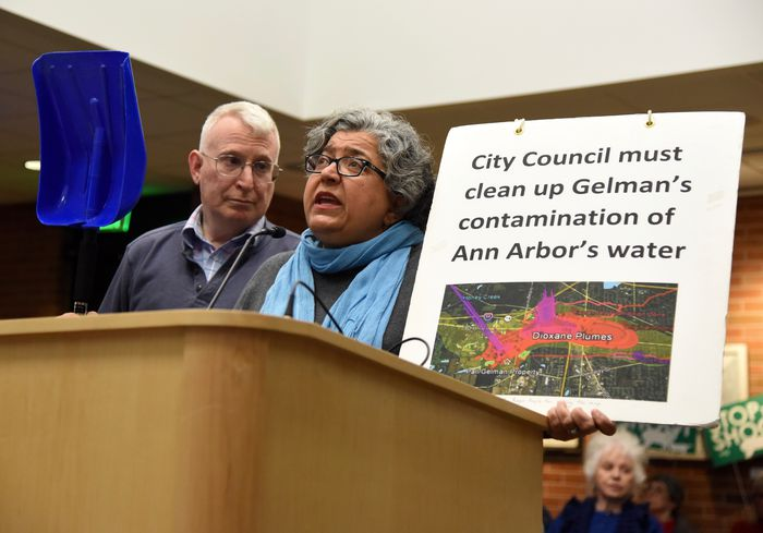 Dr. Mozhgan calls upon city council to immediately act and clean up the Gelman dioxane contamination