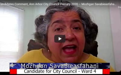 Dr. Mozhgan speaks on CTN Ann Arbor